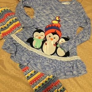 Rare Editions penguin outfit 4T